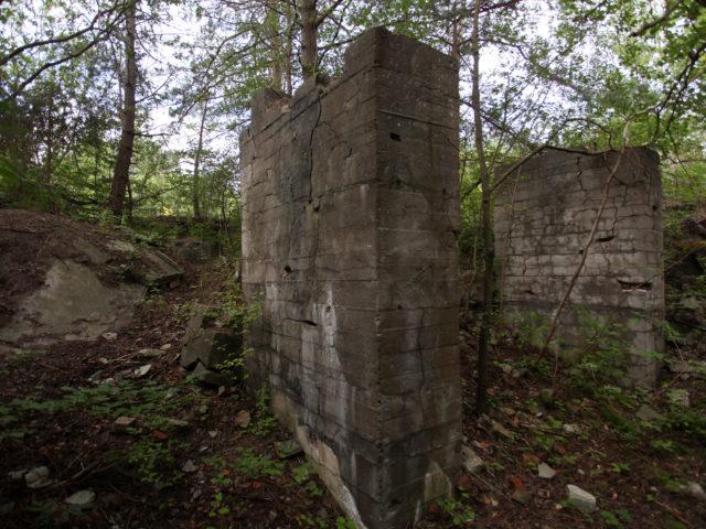 Ruiny cementowni w Lubinie
