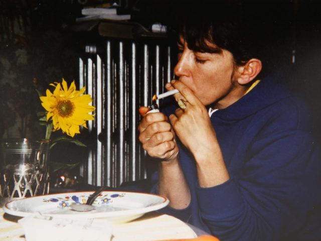Britta Wuttke w latach siedemdziesiątych