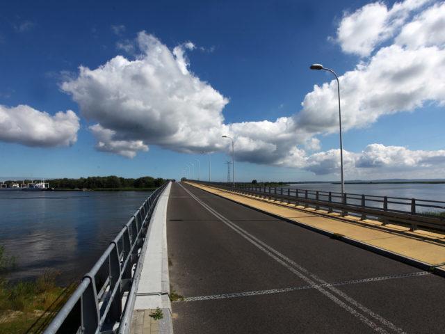 Nowy most łączący Karsibór z wyspą Wolin