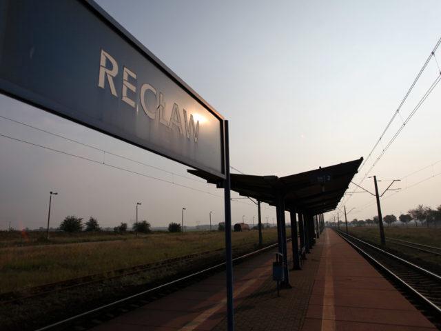 Recław był stacją, z której wysiedlani Niemcy rozpoczynali swą podróż