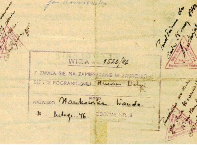 """Skany archiwalnych dokumentów pochodzą z książki """"Turystyczne odkrywanie Międzyzdrojów"""" red. J.P. Piotrowski, Międzyzdroje 2013."""